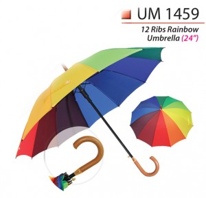 24 inch rainbow umbrella