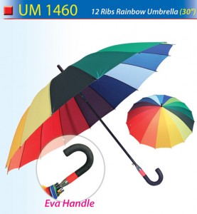 30 inch rainbow umbrella