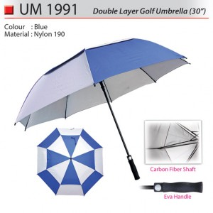 Double layer golf umbrella UM1991