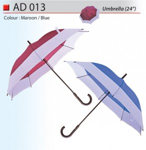 Unique design 24 inch umbrella Ad013