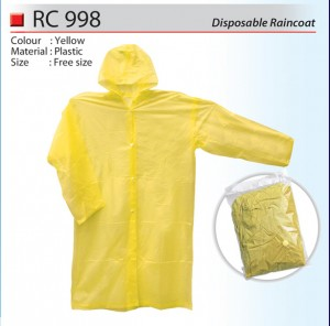 Disposable Raincoat RC998