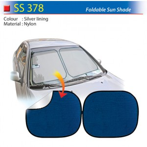 Foldable sunshade